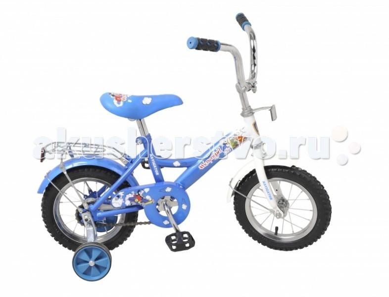 Велосипед двухколесный Navigator Ну, погоди! 12Ну, погоди! 12Велосипед Navigator Ну, погоди! 12 - это хорошо собранный и надёжный велосипед для ребёнка.   Особенности: Тип: детский Материал рамы: сталь Амортизация: отсутствует Конструкция вилки: жесткая Конструкция рулевой колонки: неинтегрированная, резьбовая Диаметр колес: 12 дюймов Материал обода: алюминиевый сплав Двойной обод: нет Материал бортировочного шнура: металл Возможность крепления боковых колес: есть Боковые колеса в комплекте: есть Тип переднего тормоза: отсутствует Тип заднего тормоза: ножной Уровень заднего тормоза: начальный Количество скоростей: 1 Уровень каретки: начальный Конструкция каретки: неинтегрированная Тип посадочной части вала каретки: квадрат Количество звезд в кассете: 1 Количество звезд системы: 1 Конструкция педалей: платформы Конструкция руля: изогнутый Настройка положения руля: регулируемый подъем Материал рамки седла: сталь Комфорт: защита цепи<br>