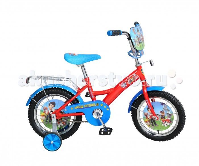 Детский транспорт , Двухколесные велосипеды Navigator Щенячий патруль 14 Kite арт: 310924 -  Двухколесные велосипеды