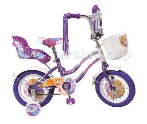 Велосипед двухколесный Navigator Winx 12 T2Winx 12 T2Велосипед Navigator Winx 12 - это хорошо собранный и надёжный велосипед для ребёнка.   Особенности: Тип: детский Материал рамы: сталь Амортизация: отсутствует Конструкция вилки: жесткая Конструкция рулевой колонки: неинтегрированная, резьбовая Диаметр колес: 12 дюймов Материал обода: алюминиевый сплав Двойной обод: нет Материал бортировочного шнура: металл Возможность крепления боковых колес: есть Боковые колеса в комплекте: есть Тип переднего тормоза: отсутствует Тип заднего тормоза: ножной Уровень заднего тормоза: начальный Количество скоростей: 1 Уровень каретки: начальный Конструкция каретки: неинтегрированная Тип посадочной части вала каретки: квадрат Количество звезд в кассете: 1 Количество звезд системы: 1 Конструкция педалей: платформы Конструкция руля: изогнутый Настройка положения руля: регулируемый подъем Материал рамки седла: сталь Комфорт: защита цепи<br>