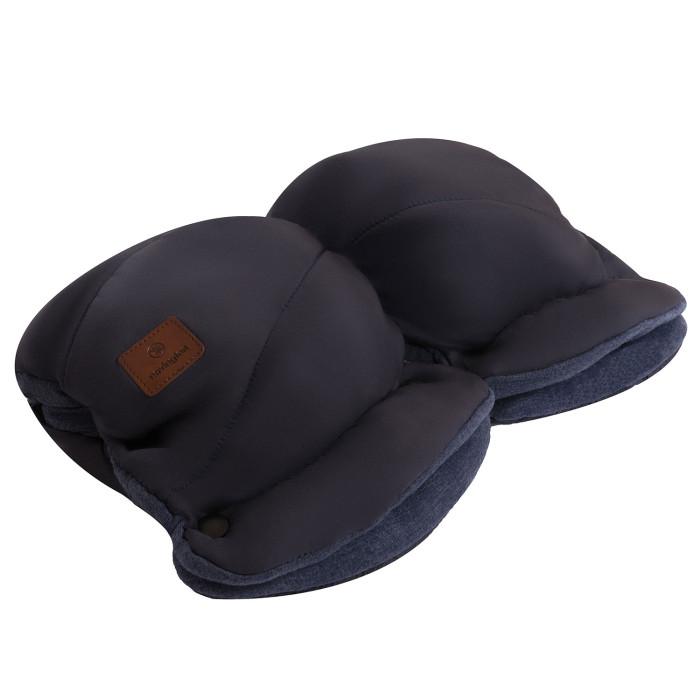 Navington Муфта для рукМуфта для рукМуфта для рук Navington подходит для любых детских колясок со сплошными ручками.   Верхняя часть муфты сделана из прочного материала, который не пропускает влагу и сохраняет тепло. Внутри муфты - синтепон, отлично сохраняющий тепло в холодное время года.<br>