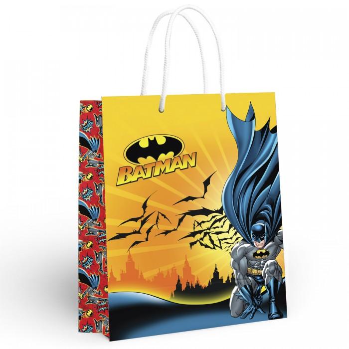 Товары для праздника Nd Play Batman Пакет подарочный большой 286625 товары для праздника nd play пакет подарочный малый batman