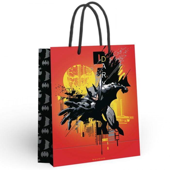 Товары для праздника Nd Play Batman Пакет подарочный большой 286627 товары для праздника nd play пакет подарочный малый batman