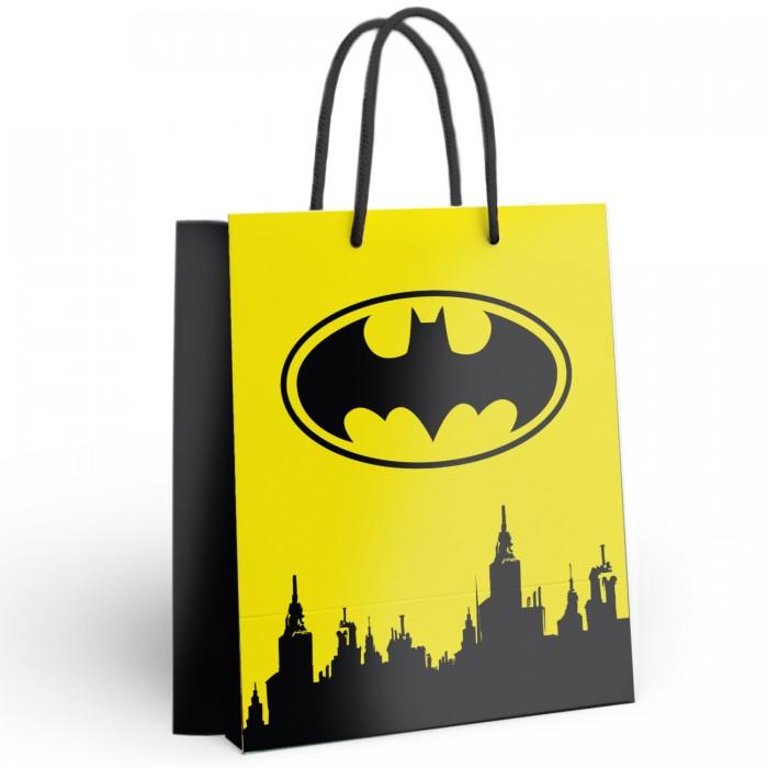 Товары для праздника Nd Play Batman Пакет подарочный большой 286630 товары для праздника nd play пакет подарочный малый batman
