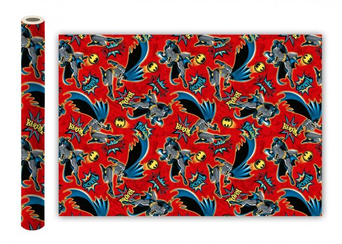 Товары для праздника Nd Play Batman Упаковочная бумага 280573 2 шт. товары для праздника nd play сказочный патруль упаковочная бумага 2 шт