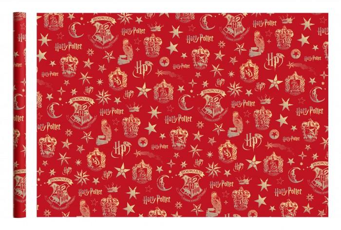 Товары для праздника Nd Play Harry Potter Упаковочная бумага 2 шт. бумага упаковочная nd play harry potter 2 3 100 х 70 см 2 шт красный
