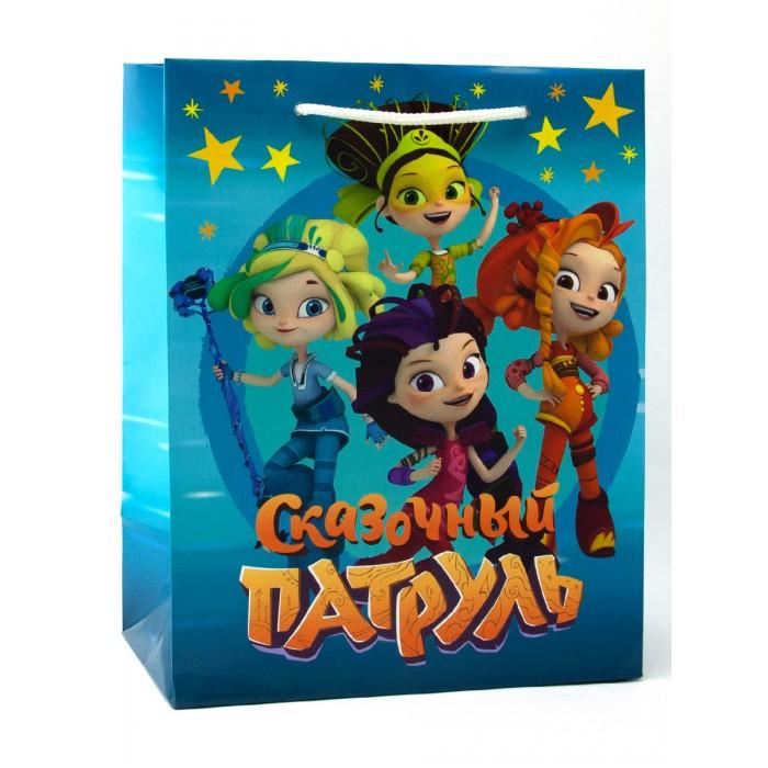 Товары для праздника Nd Play Сказочный патруль Пакет подарочный малый товары для праздника nd play пакет подарочный малый batman