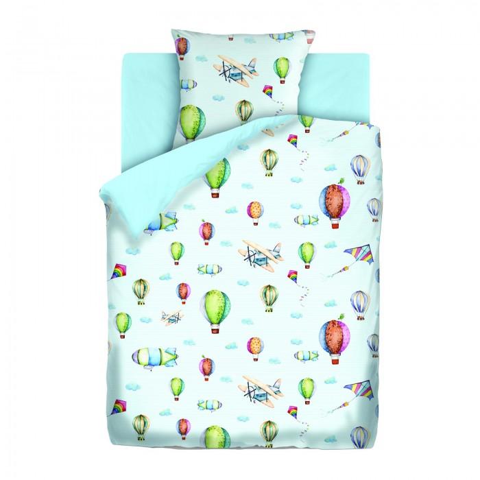 Постельное белье 1.5-спальное Непоседа Аэропланы 1.5-спальное (3 предмета) непоседа непоседа детское постельное белье 1 5 спальное форсаж
