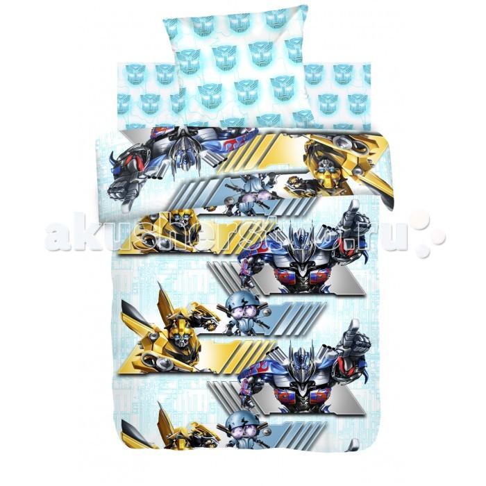 Постельное белье 1.5-спальное Непоседа Transformers Автоботы 1.5-спальное (3 предмета) постельное белье 1 5 спальное непоседа enchantimals фелисити лис и флик 1 5 спальное 3 предмета