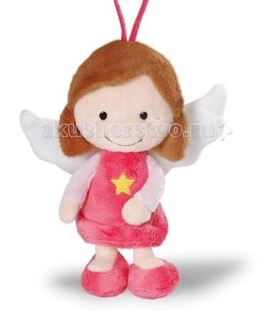 Мягкие игрушки Nici Ангел-хранитель с петелькой 15 см мягкие игрушки nici мягкая игрушка ангел хранитель