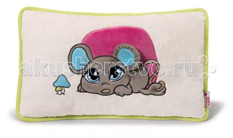 Подушки для малыша Nici Подушка Мышка серая 43x25 см nici подушка шнауцер