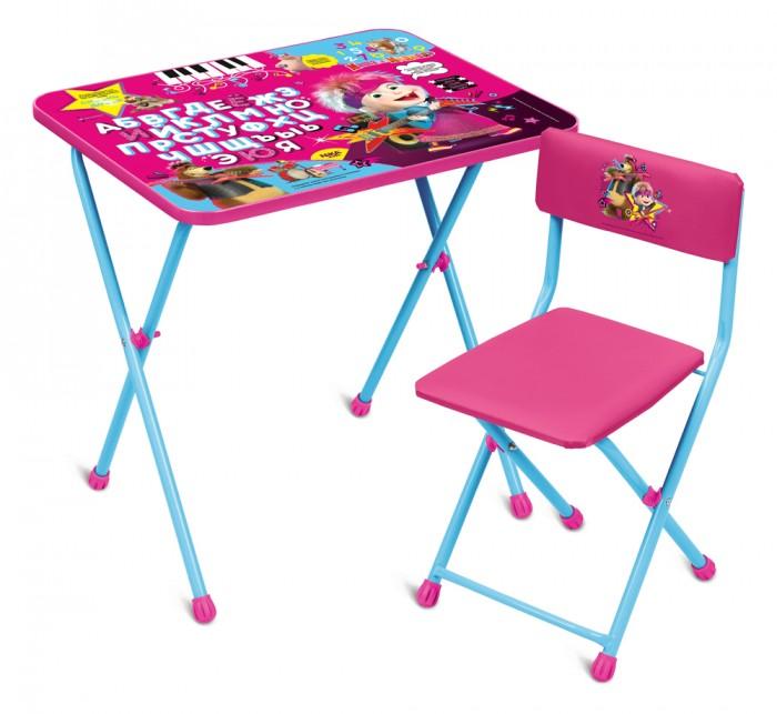 Детские столы и стулья, Ника Детский комплект Маша и Медведь ММД2  - купить со скидкой
