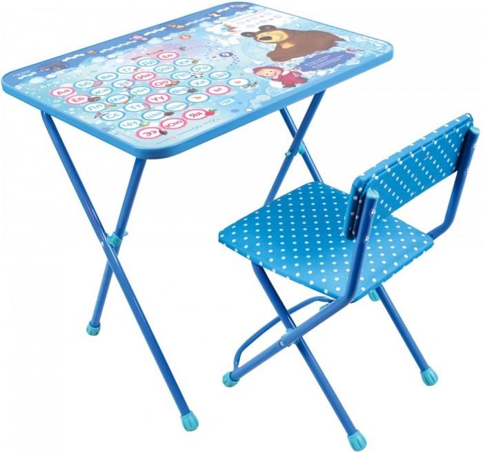 Купить Детские столы и стулья, Ника Детский комплект Маша и Медведь