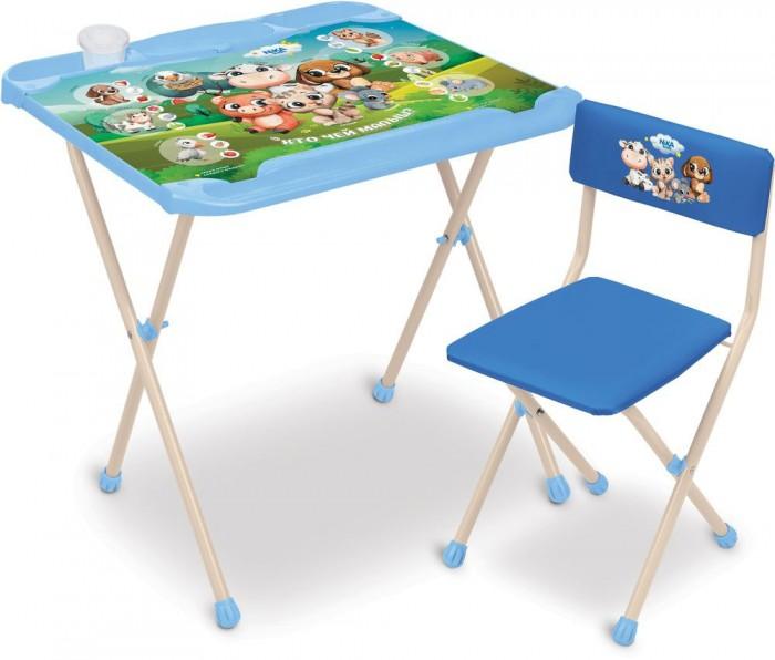 Купить Детские столы и стулья, Ника Детский комплект мебели Кто чей малыш? КНД2