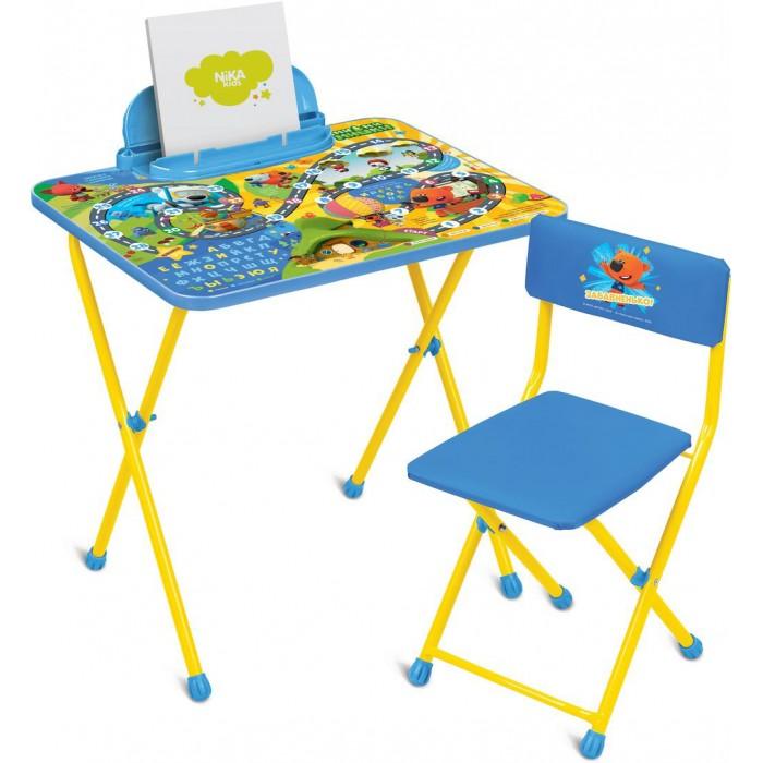 Детские столы и стулья Ника Детский комплект мебели МиМиМишки c игрой