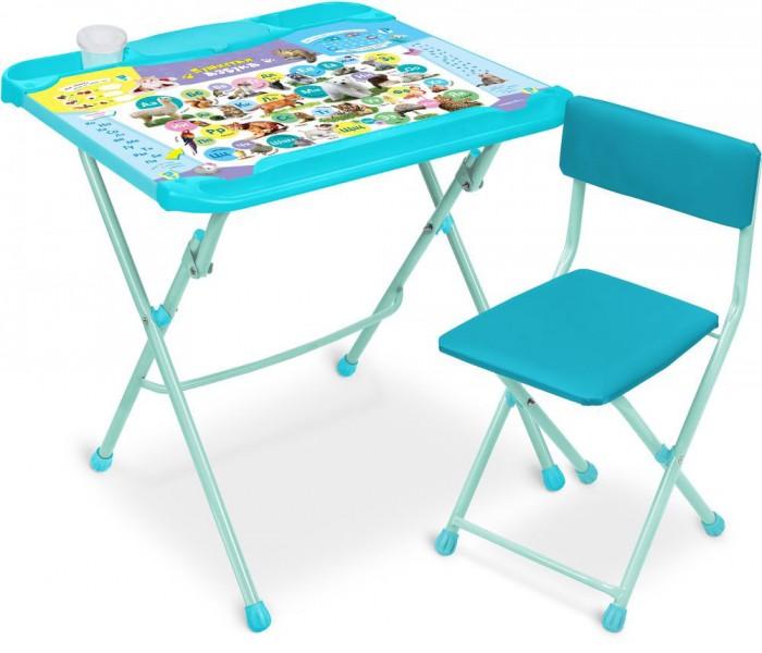 Купить Детские столы и стулья, Ника Детский комплект мебели Пушистая азбука
