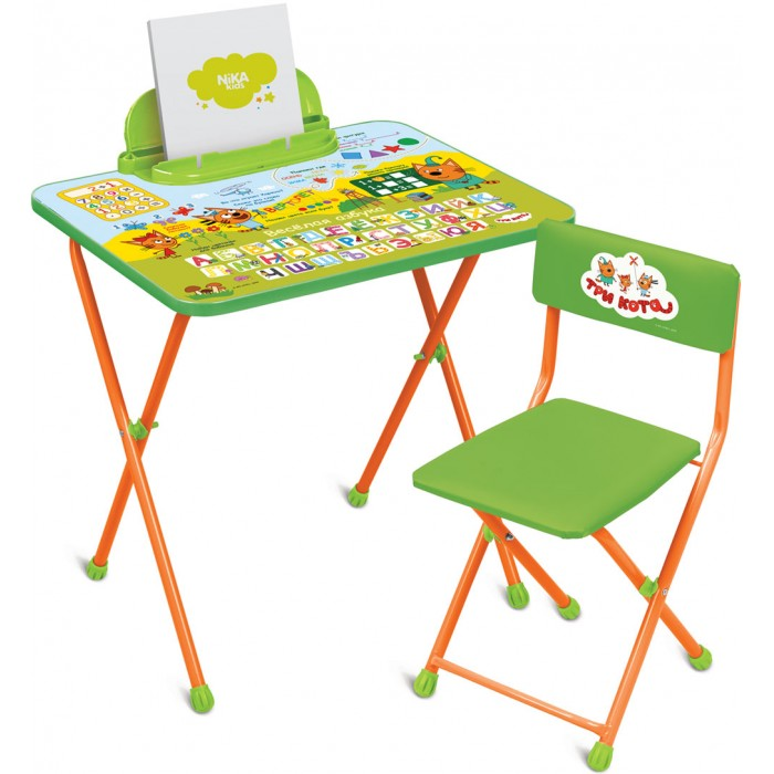 Купить Детские столы и стулья, Ника Детский комплект Три кота ТК2/1