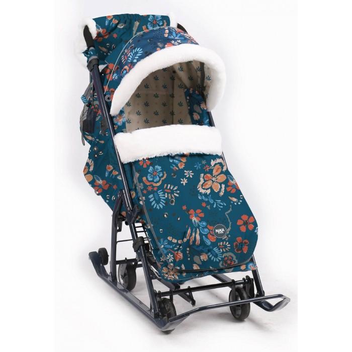 Картинка для Санки-коляска Ника Детям комбинированные НД7-5