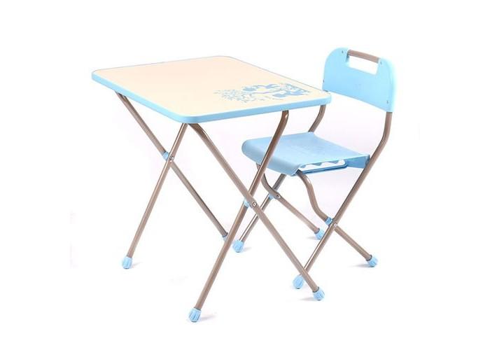Детские столы и стулья Ника Комплект детской мебели с рисунком в стиле Ретро