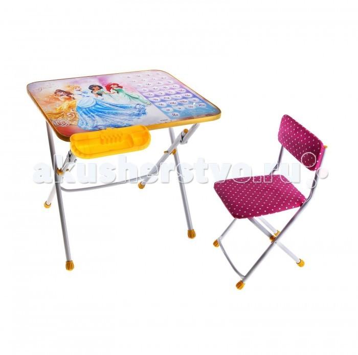 Столы и стулья Ника Набор мебели Disney 3 disney набор детской посуды королевские питомцы 3 предмета