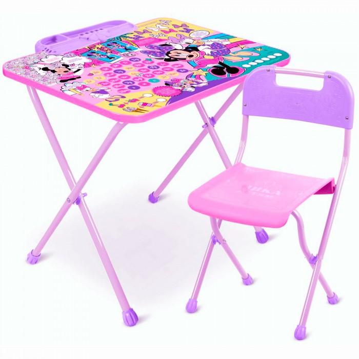 Купить Детские столы и стулья, Ника Набор мебели Disney Минни Маус