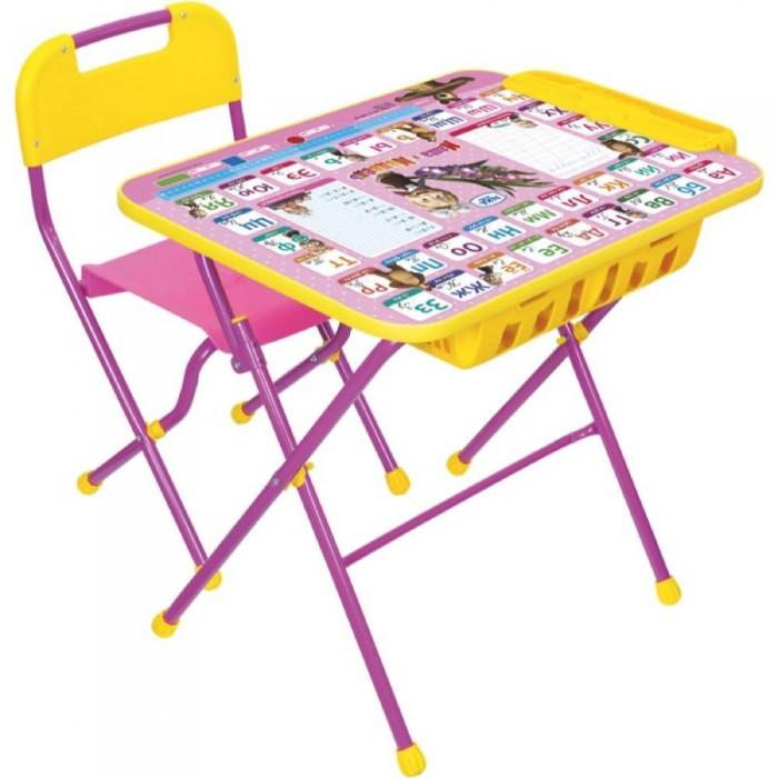 Купить Детские столы и стулья, Ника Набор мебели Маша и медведь КПУ2П