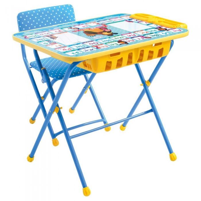 Детская мебель , Столы и стулья Ника Набор мебели Маша и медведь арт: 425364 -  Столы и стулья