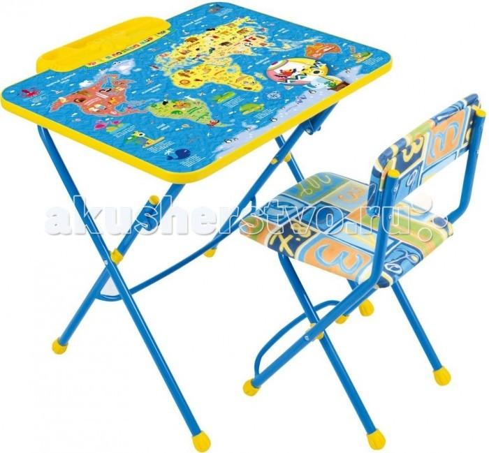 Столы и стулья Ника Набор мебели Умничка 2 ника набор мебели первоклашка осень синий