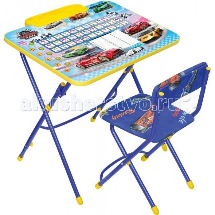 Столы и стулья Ника Набор мебели Умничка 3 ника набор мебели первоклашка осень синий