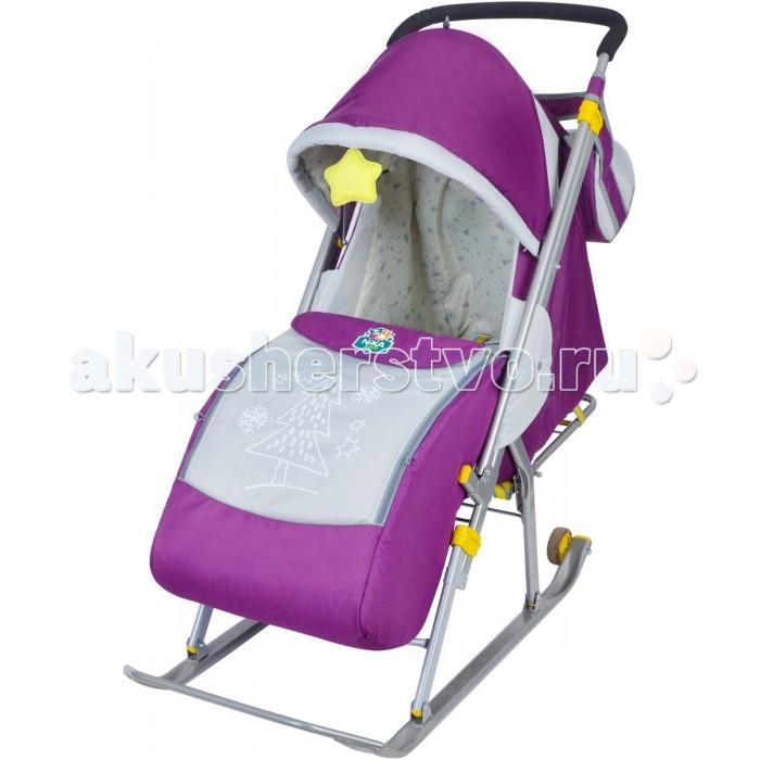 Санки-коляски Ника Детям 4