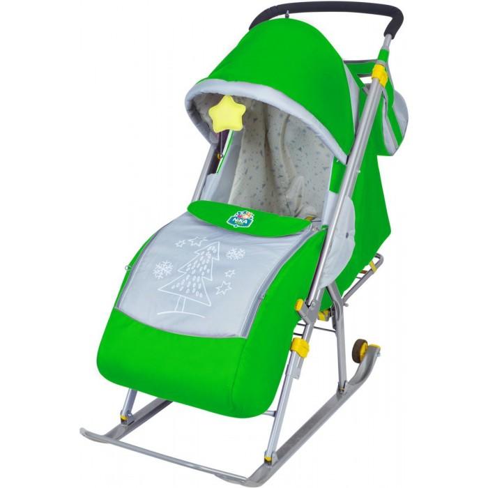 Санки-коляска Ника Детям 4Детям 4Санки-коляска Ника Детям 4 предназначены для перевозки детей в положении сидя и лежа.  Чехол выполнен из влагонепроницаемого износоустойчивого полиэстера. Прочный и легкий металлический каркас, легко складывается. Широкие полозья обеспечивают легкое скольжение по снегу.  Характеристики: плоские полозья 40 мм пятиточечный ремень безопасности складной козырек с прозрачным тентом, опускается до чехла для ног и пристегивается к нему. плавная регулировка спинки до положения лежа чехол для ног на молнии светоотражающий кант колесо для удобной транспортировки перекидная ручка сумка для мамы  Цвета - баклажан, бирюзовый, зеленый, оранжевый, розовый, черная ночь<br>