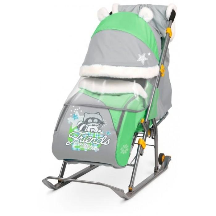 Санки-коляска Ника Детям 6  (НД6)