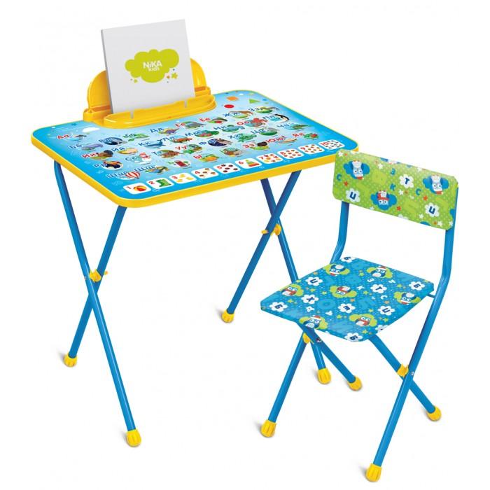 Детские столы и стулья Ника Комплект Познайка (стол+стул клеенка)