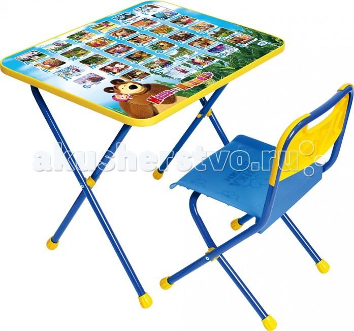 Столы и стулья Ника Комплект Познайка (стол+стул клеенка) набор детской мебели ника познайка кп2