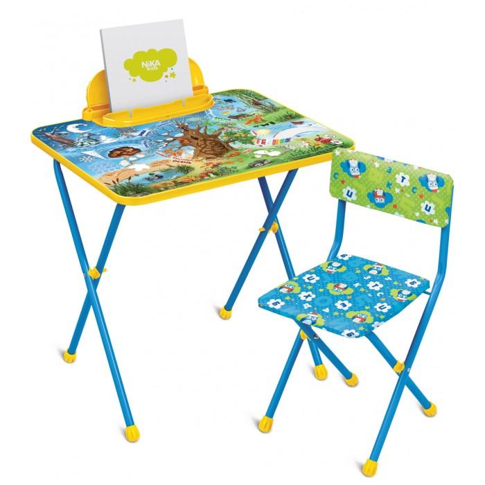 Купить Детские столы и стулья, Ника Комплект Познайка (стол+стул клеенка)