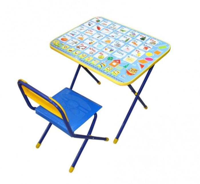 Детские столы и стулья, Ника Комплект Познайка (стол+стул пластик)  - купить со скидкой
