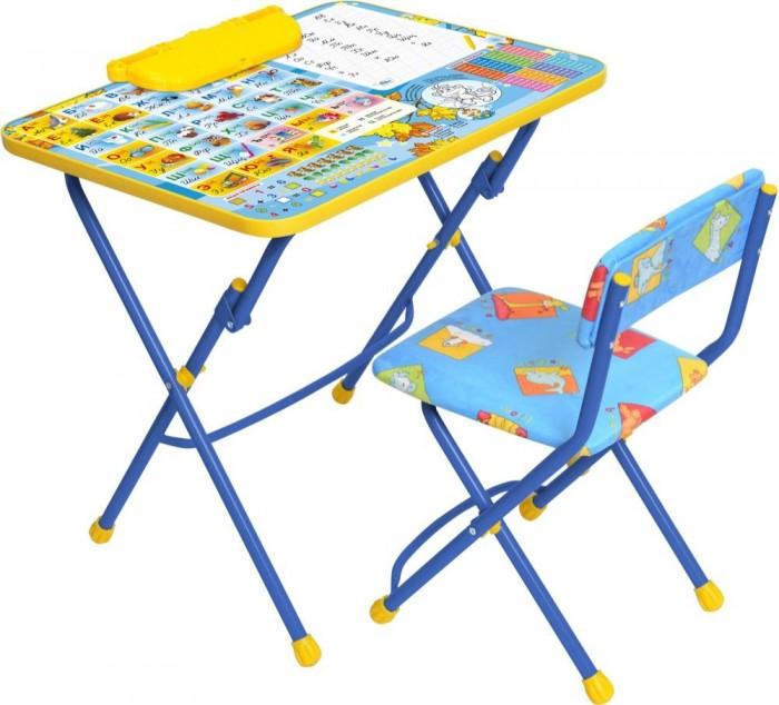 Столы и стулья Ника Набор мебели (стол-парта+мягкий стул) ника набор мебели ника стол пенал стул мягкий ку2 познаю мир познаю мир