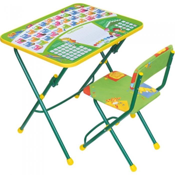 Столы и стулья Ника Набор мебели (стол-парта+мягкий стул) стол складной ника водостойкий пластик 100x50 cм