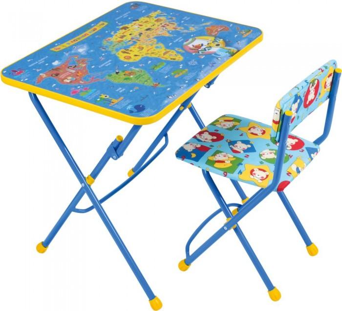 Купить Детские столы и стулья, Ника Набор мебели (стол+мягкий стул)
