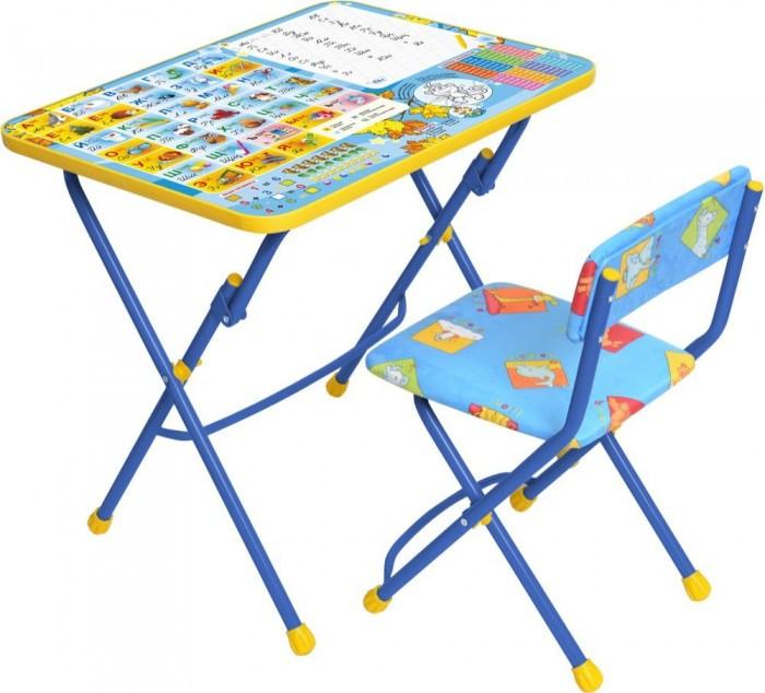 Детские столы и стулья Ника Набор мебели (стол-парта+пластиковый стул)