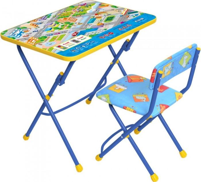 Столы и стулья Ника Набор мебели (стол-парта+пластиковый стул) столы и стулья ника набор мебели фиксики