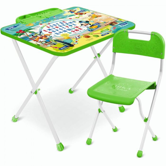 Детские столы и стулья Ника Набор мебели Disney 1 набор стол складной и стулья pt 019 3 предмета