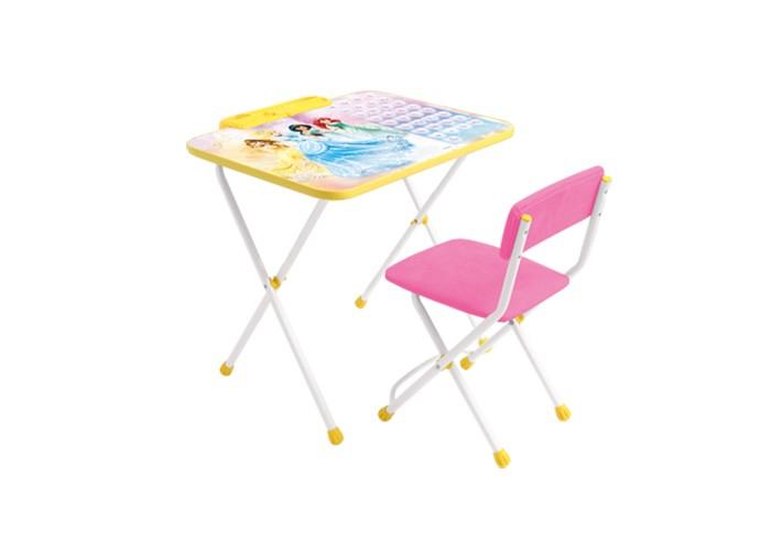 Столы и стулья Ника Набор мебели Disney 2 набор стол складной и стулья pt 019 3 предмета