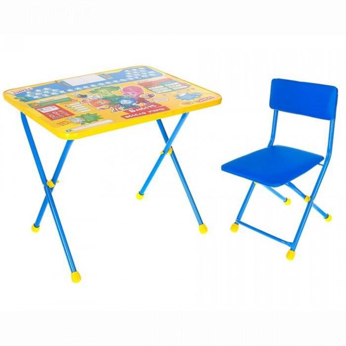 Детские столы и стулья Ника Набор мебели Фиксики