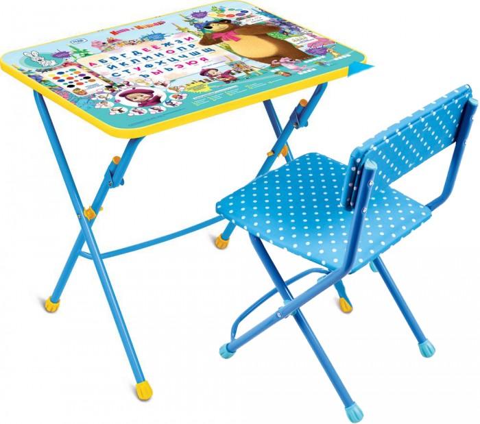 Детские столы и стулья Ника Набор мебели Маша и Медведь (стол-парта+мягкий стул) столы и стулья ника набор мебели маша и медведь стол парта мягкий стул