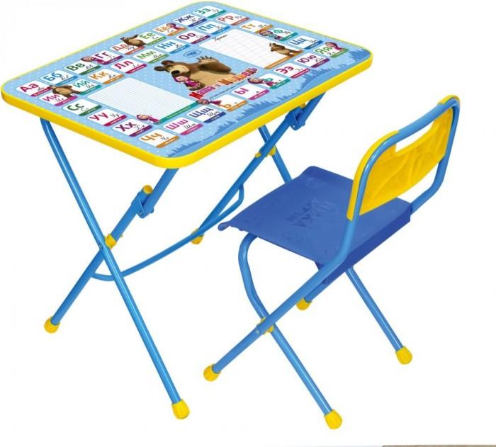 Столы и стулья Ника Набор мебели Маша и Медведь (стол-парта+стул) набор мебели ника маша и медведь азбука 1 кп 1