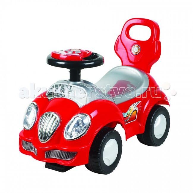 Каталка Ningbo Prince АвтоАвтоКаталка Ningbo Prince Авто станет любимой игрушкой Вашего малыша, ее размеры позволяют использовать ее, как на улице, так и в доме.  Характеристики: Каталка имеет устойчивую конструкцию Легкое движение вперед и назад Вместительный багажник под сиденьем На руле кнопка звукового сигнала-пищалки Колеса с поворотом на 90 градусов  Каталка способствует развитию опорно двигательного аппарата ребенка, укреплению суставов и координации в пространстве.   Размер: 62х28х31 см  Вес: 2.6 кг  Максимальный вес: до 30 кг<br>