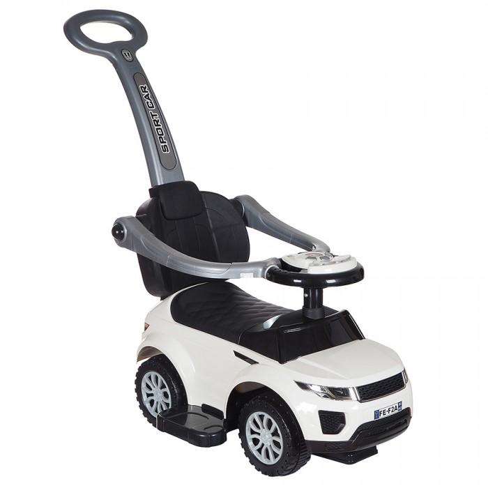 Каталка Ningbo Prince Range 614WRange 614WКаталка Ningbo Prince Range 614W с ручкой, бампером и подставкой для ног позволит ребенку провести время весело и с пользой для физического развития. Езда на этой каталке способствует развитию мышц ног и вестибулярного аппарата, а также улучшению координации движений.    Особенности: музыкальные и световые эффекты на руле отсек для игрушек под сиденьем движение: вперед-назад окраска: нет возраст ребенка: с 3 лет макс.разрешенный вес: до 20 кг родительская ручка-толкатель защитный бампер подставка под ножки размер машинки: 85 х 43 х 86 см<br>