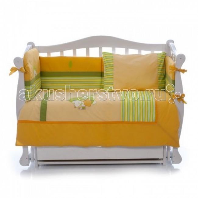 Постельные принадлежности , Комплекты в кроватку Nino Erizo (6B предметов) арт: 9372 -  Комплекты в кроватку