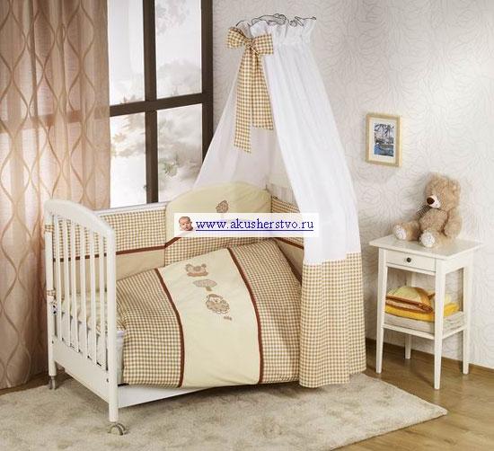 Постельные принадлежности , Комплекты в кроватку Nino Morada (6B предметов) арт: 9375 -  Комплекты в кроватку
