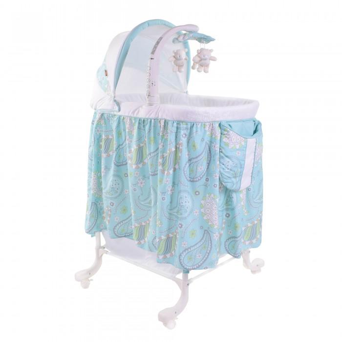 Колыбель Noony LulaLulaКолыбель Noony Lula – это современная и многофункциональная колыбель для новорожденных. Она включает в себя все самое необходимое: вибро-блок, уникальный маятник качания, регуляторы высоты, мягкую ночную подсветку, съемный складной капор и поворотный музыкальный мобиль с игрушками, а также вместительную тканевую корзину для хранения детских принадлежностей.   Маятник поперечного качания позволяет раскачивать не всю колыбель, а только уютное спальное место, что наиболее безопасно. Музыкальный мобиль, со встроенными мелодиями, дополнительно позволяет подключать к нему любые MP3 устройства и проигрывать уже Ваши мелодии или собственные колыбельные песни.   Многофункциональная колыбель Noony Lula значительно облегчает уход мамы за новорожденным.   Количество уровней ложа: 3 Наличие колесиков Наличие стопоров колесиков Матрас в комплекте Поворотный музыкальный мобиль с игрушками Выбор мелодий мобиля  Вибромодуль для укачивания Возможность подключения MP3-устройств Съемный, складной капор Бельевая корзина Ночник / Ночная подсветка колыбели<br>